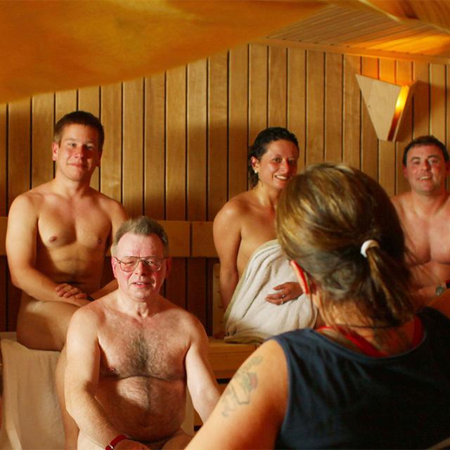 Lange Sauna-Nacht