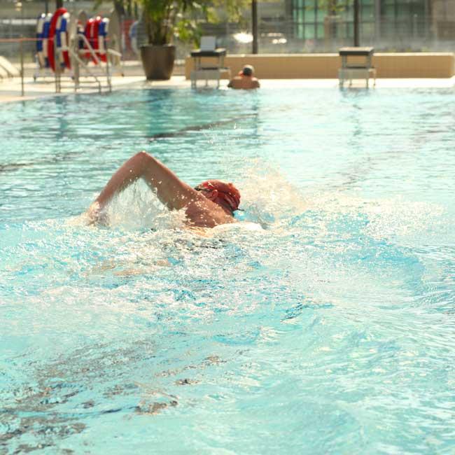 Nikolausschwimmen der DLRG - geschlossene Gesellschaft
